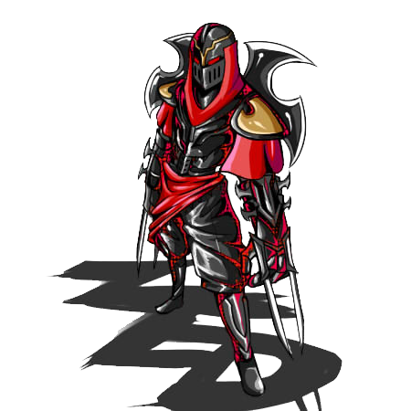 Zed - the Master of Shadows by Liptan PlusPng.com  - Zed The Master Of Shadows PNG