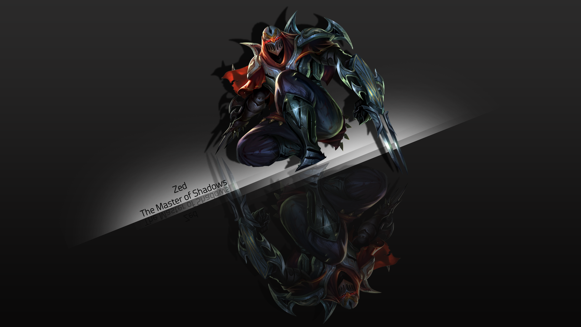 . PlusPng.com Zed - The Master of Shadows by Xael-Design - Zed The Master Of Shadows PNG