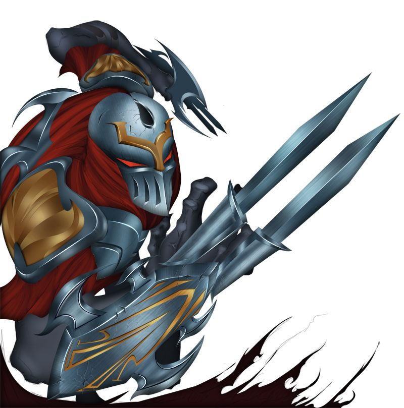 Zed The Master Of Shadows WIP - Zed The Master Of Shadows PNG