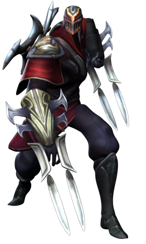 Zed The Master Of Shadows PNG