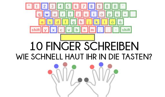 schreibtrainer 10 finger