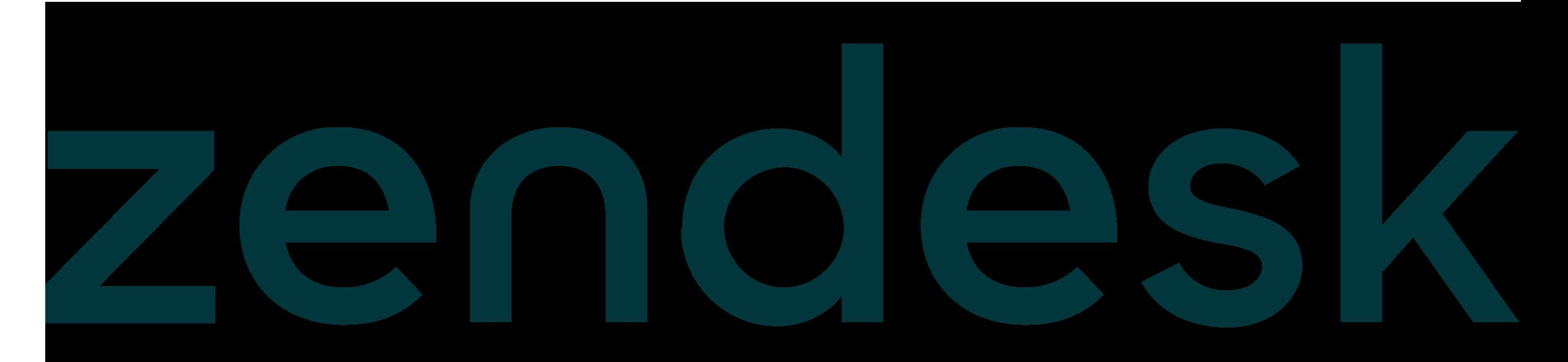 Zendesk_logo_wordmark.png - Zendesk PNG