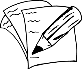 Zettel Und Stift PNG - 40522