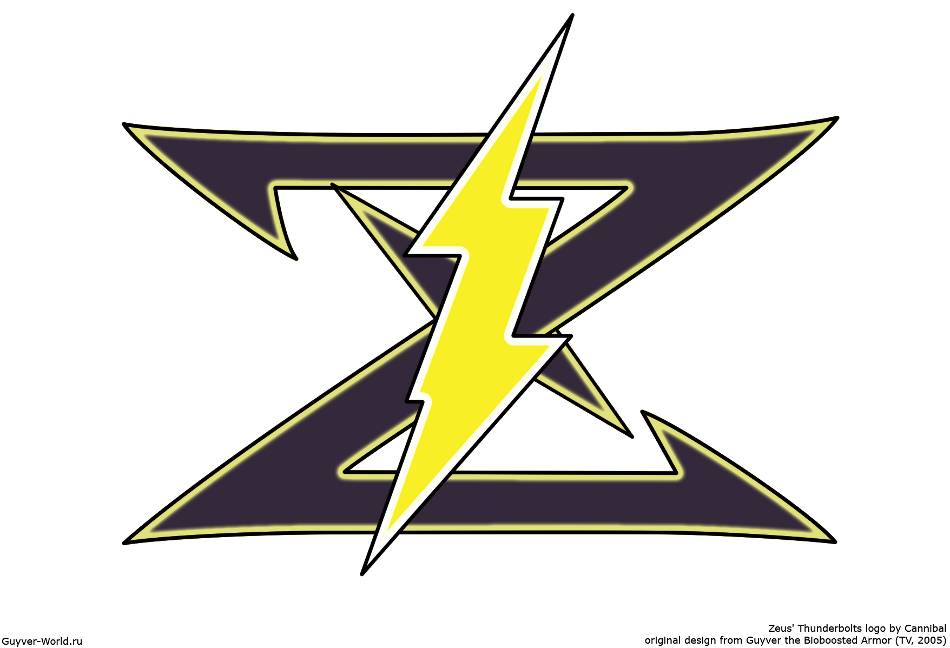 Image - Zeusu0027 Thunderbolts Logo.png | Guyver Wiki | FANDOM powered by Wikia - Zeus Thunderbolt PNG