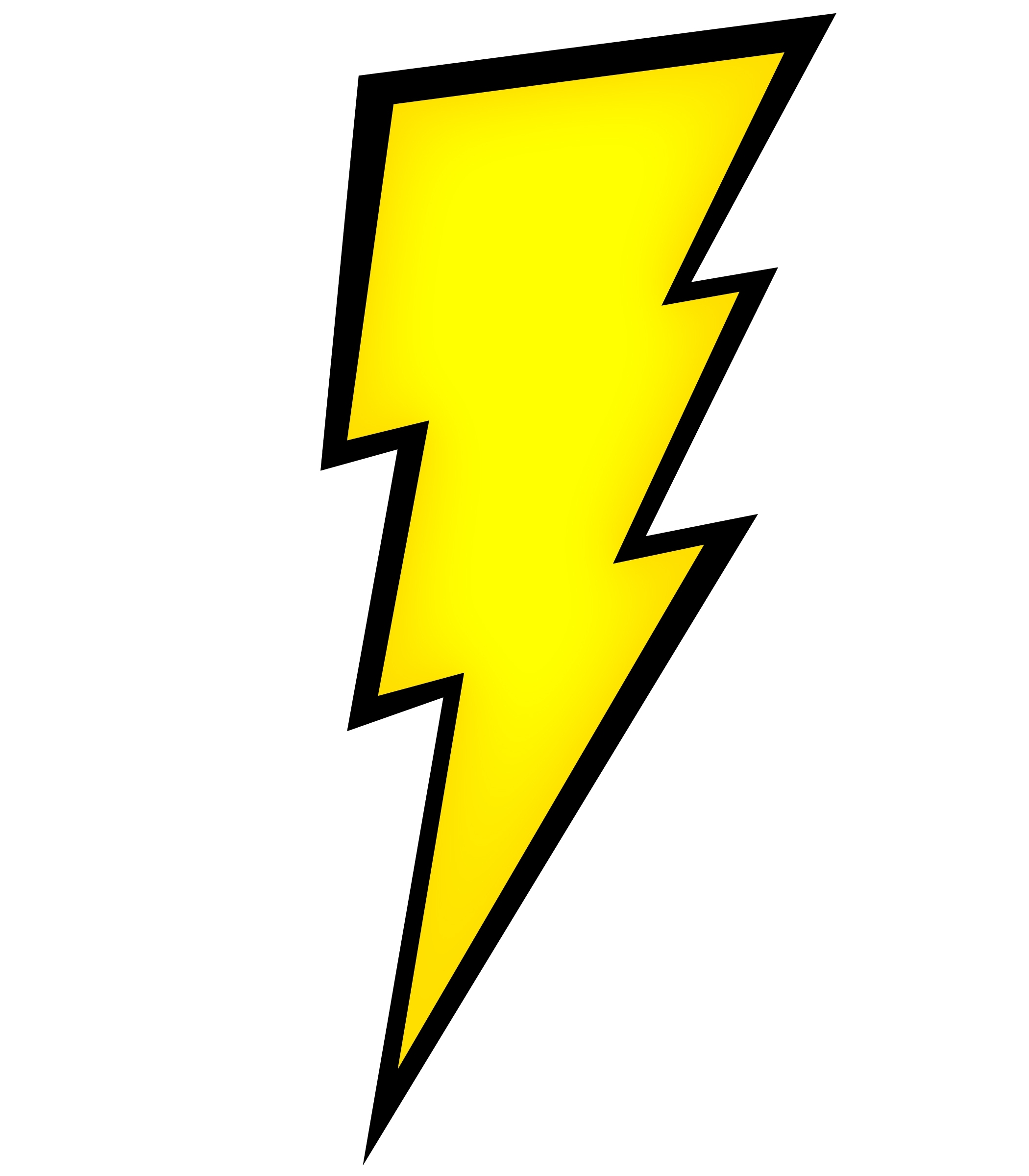 pin Drawn lightning thunderbolt #1 - Zeus Thunderbolt PNG