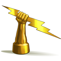 Zeus Thunderbolt PNG - 40559