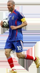 Zinedine Zidane - La Leyenda - Zidane PNG