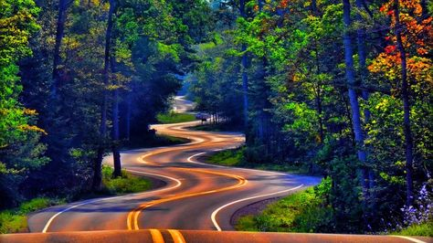 Zigzag Road PNG - 41667