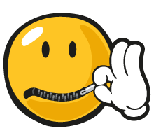 Mouth Zip - Zip Mouth PNG