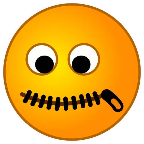 This image rendered as PNG in other widths: 200px, 500px, PlusPng.com  - Zip Mouth PNG