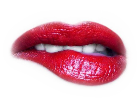 Red lips PNG image - Zipped Lips PNG