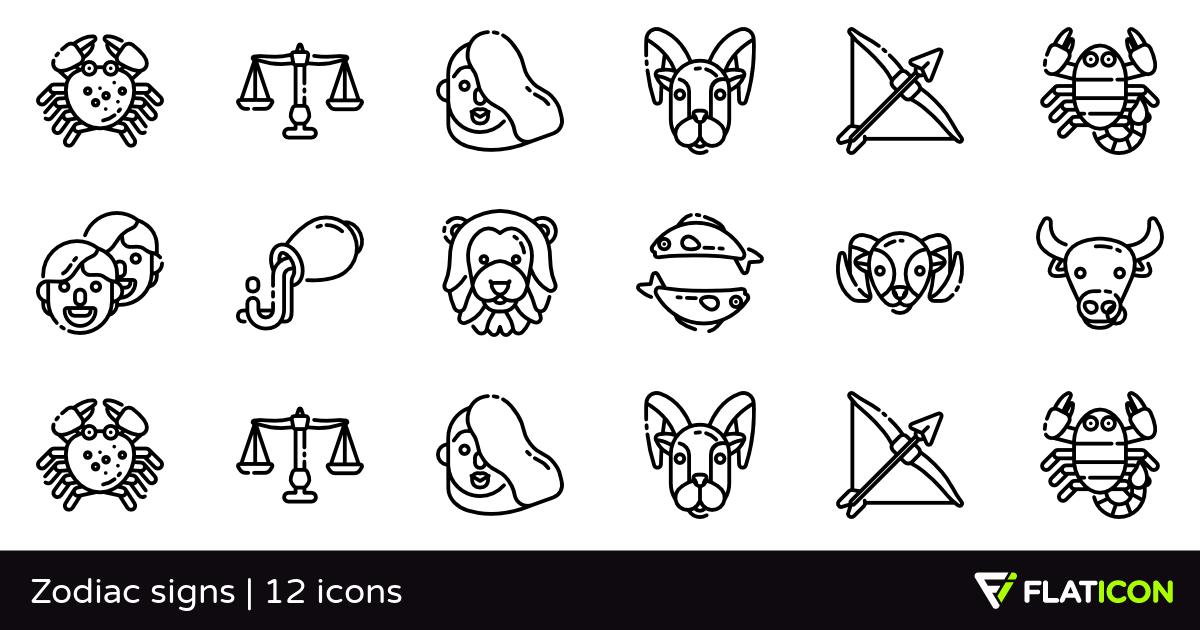 Zodiac Signs PNG-PlusPNG.com-1200 - Zodiac Signs PNG