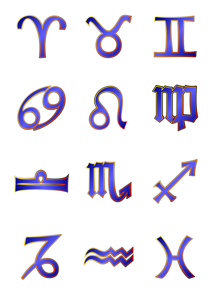 Zodiac Signs PNG Transparent Zodiac Signs PNG Images  | PlusPNG